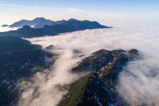 庐山云海唯美高清桌面壁