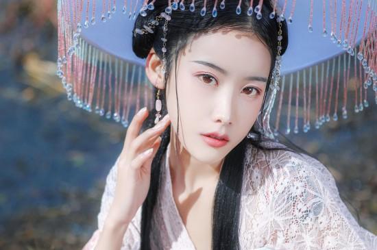 妖娆仙气美女古风写真图片桌面壁纸