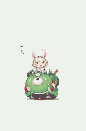 阴阳师游戏萌系人物手机壁纸