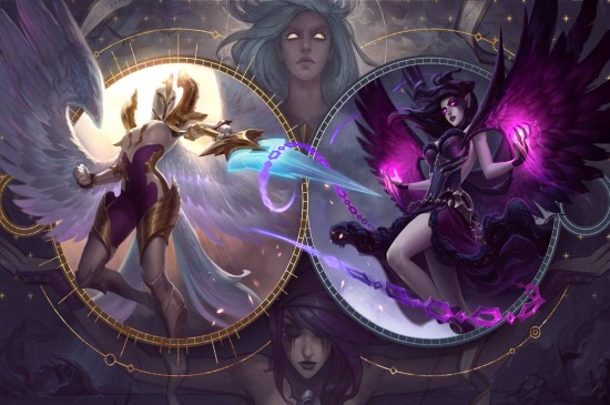 LOL英雄联盟正义天使凯尔新原画桌面壁纸