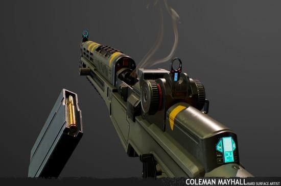 《APEX英雄》枪械原画桌面壁纸