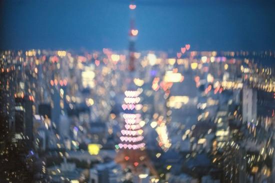 <唯美城市夜景桌面壁纸图片