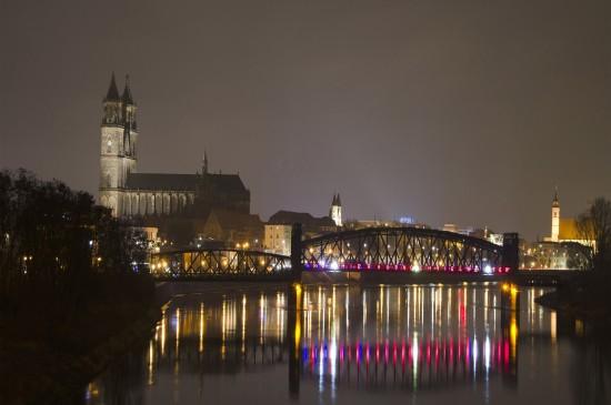 德国马格德堡城市风光图片桌面壁纸