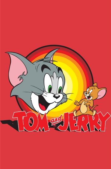 <猫和老鼠创意卡通高清手机壁纸