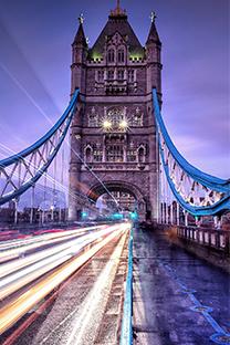 国外绚丽城市夜景风光图片手机壁纸