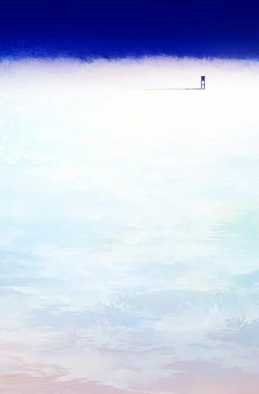 清新唯美动漫风景插画手机壁纸