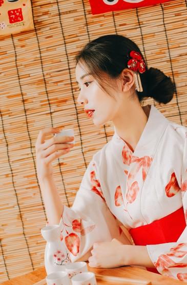 <和服美女性感美艳写真图片