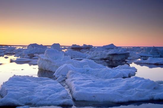 <极地冰雪奇观风景桌面壁纸