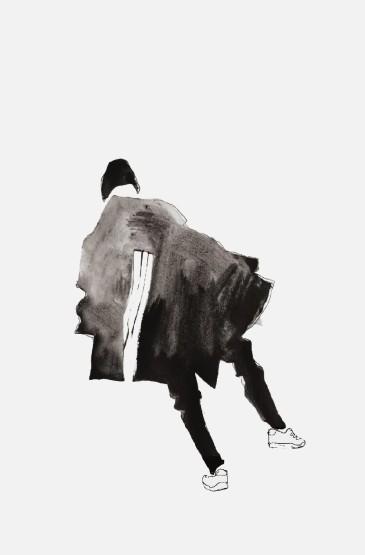 酷帅潮流男生手绘头像图片