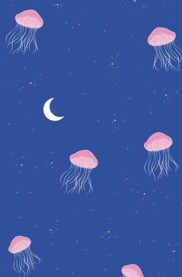 蓝色宇宙创意手机壁纸