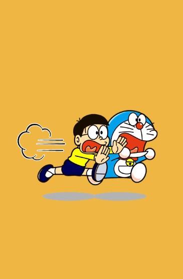 日漫《哆啦A梦》呆萌可爱图片手机壁纸