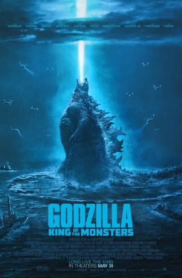 《哥斯拉2:怪兽之王》正式海报图片