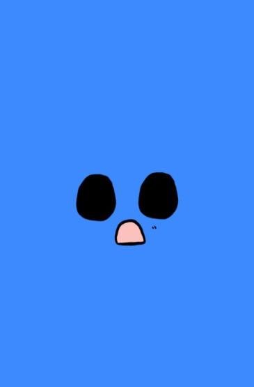 可爱呆萌表情糖果色卡通图片手机壁纸