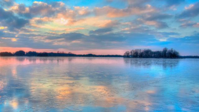 最美日出唯美自然风光