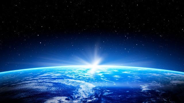蔚蓝色地球