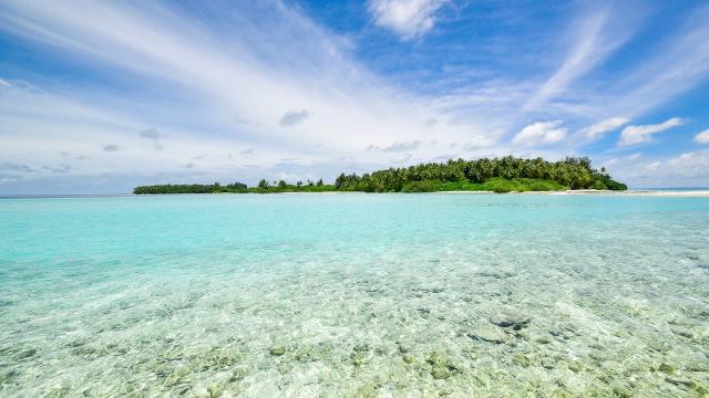 波澜壮阔的海滩