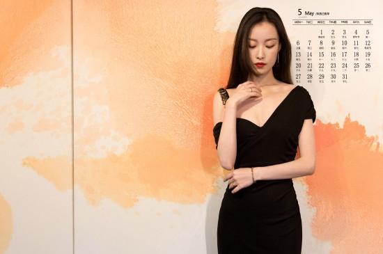 2019年5月倪妮性感时尚写真日历壁纸