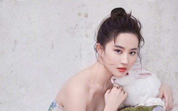 氣質女神劉亦菲時尚大氣