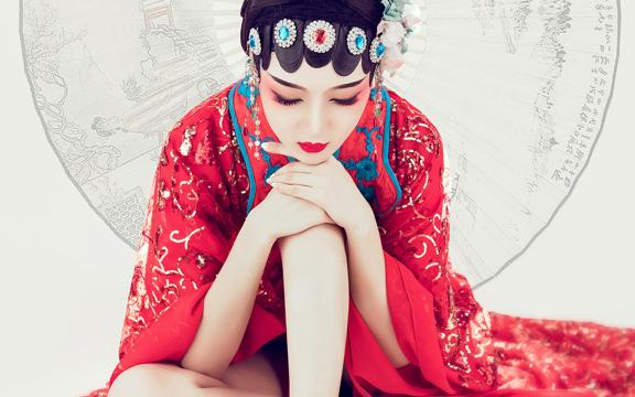 让人惊艳的极品古装性感美女