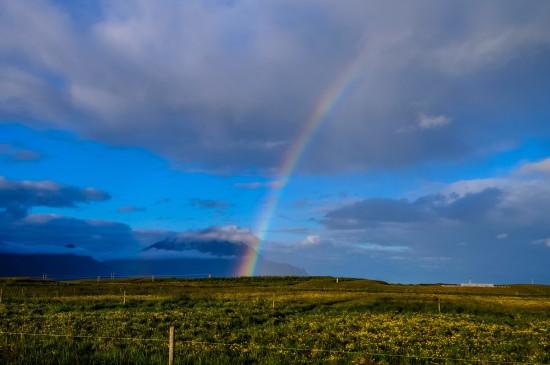 大自然七色彩虹唯美图片电脑壁纸