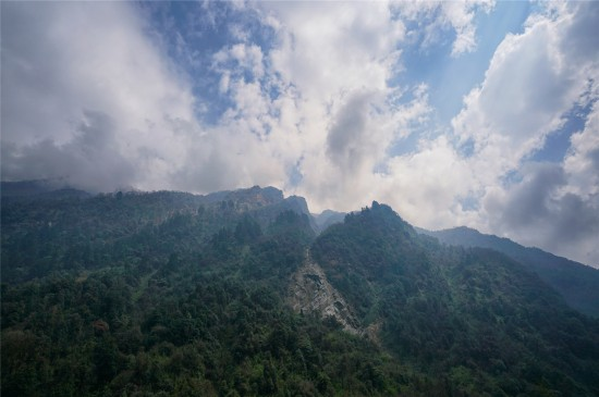 喜马拉雅山风景高清桌面壁纸