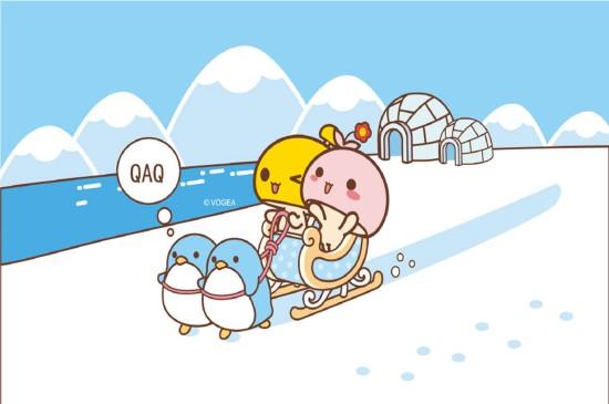 蘑菇点点甜蜜旅行图片卡通壁纸