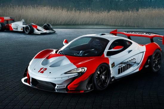 迈凯轮P1超级跑车高清图