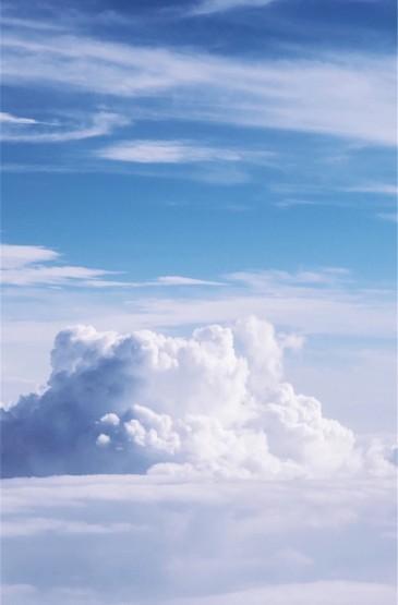 唯美蓝天白云风景高清图