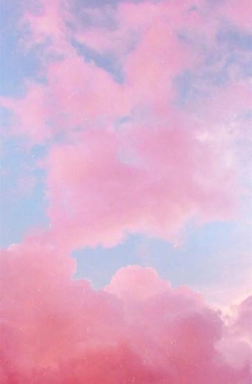 少女心粉色天空高清图片手机壁纸