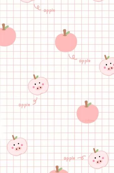<创意唯美水果插画高清手机壁纸