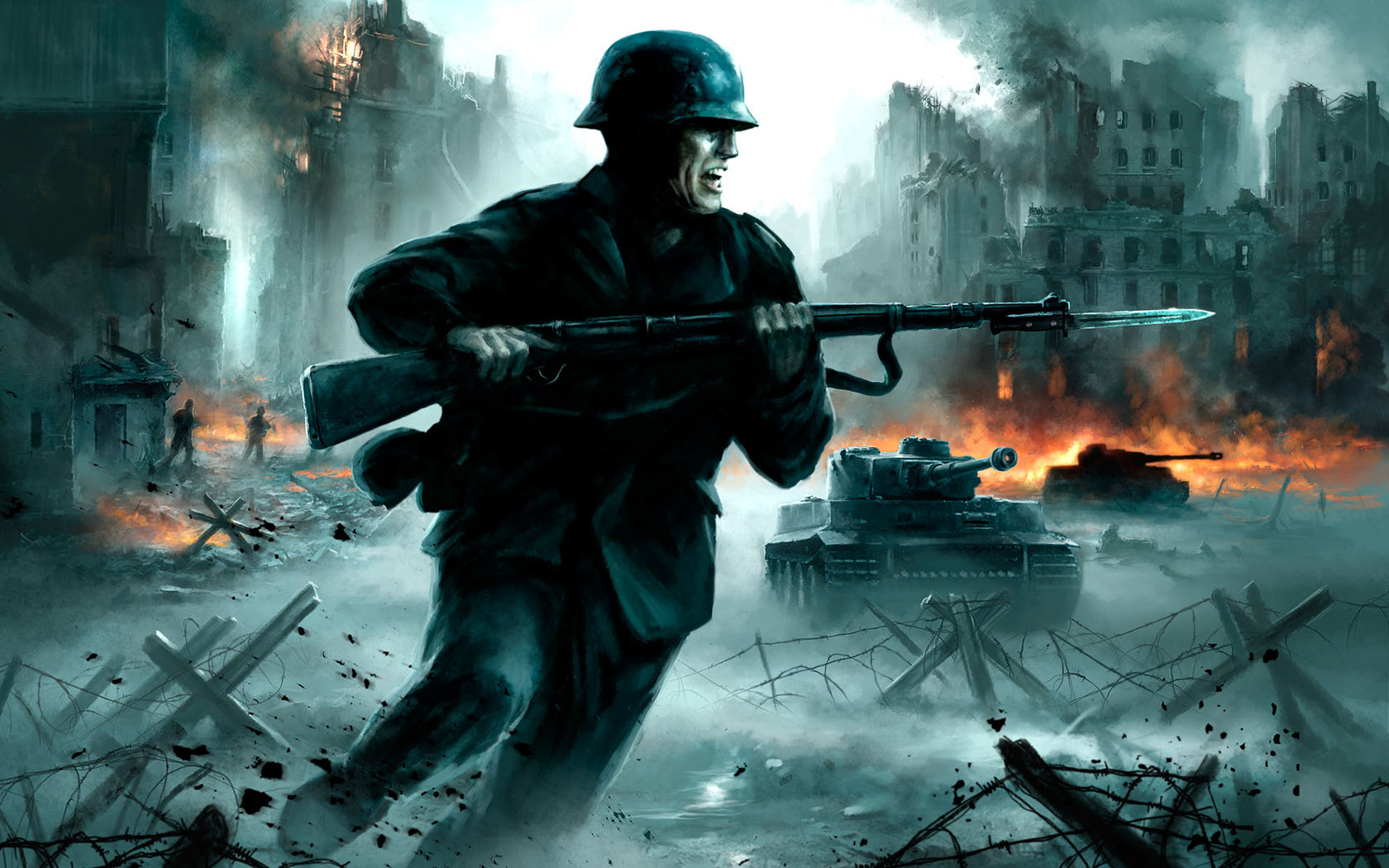 游戏战斗场面军事第二辑武器壁纸