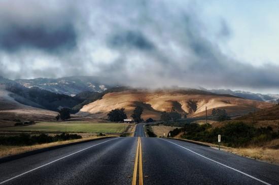 精选公路风景摄影图片桌面壁纸