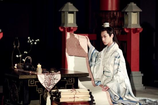罗云熙《白发》古风影视剧照图片桌面壁纸
