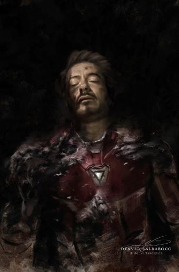 《复仇者联盟4:终局之战》初代A6艺术海报图片