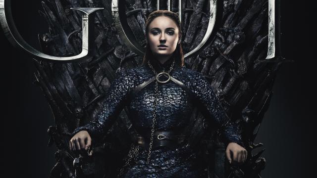 《权力的游戏 第八季》海报(2019)