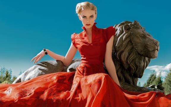 魅力四射的时尚性感欧洲美女写真