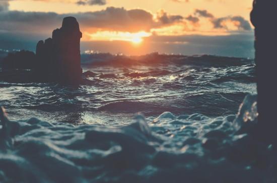 唯美夕阳风景桌面壁纸
