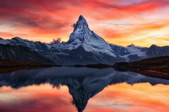 唯美山水自然风光美景秀美天空图片壁纸