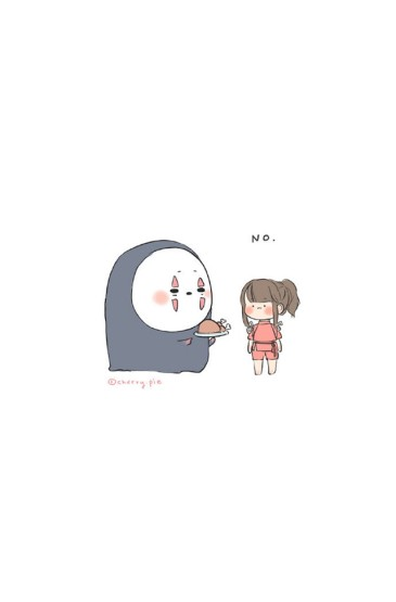 宮崎駿動漫人物插畫高清