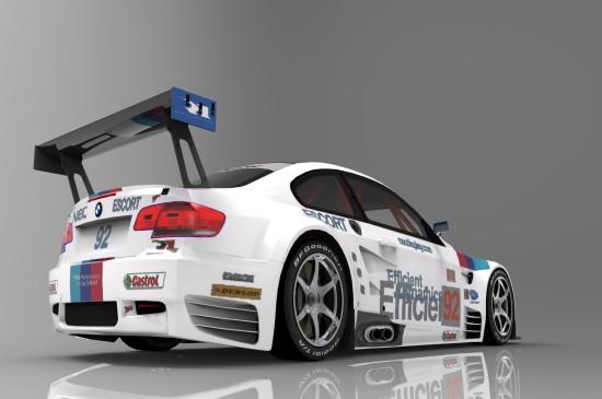BMW M3 GT2炫酷汽车壁纸图片