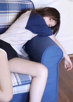 翘臀美女模特运动服长腿诱惑写真