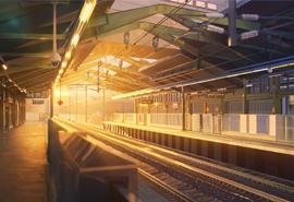 踏上一望无尽的旅途精选铁路交通高清1080P桌面壁纸