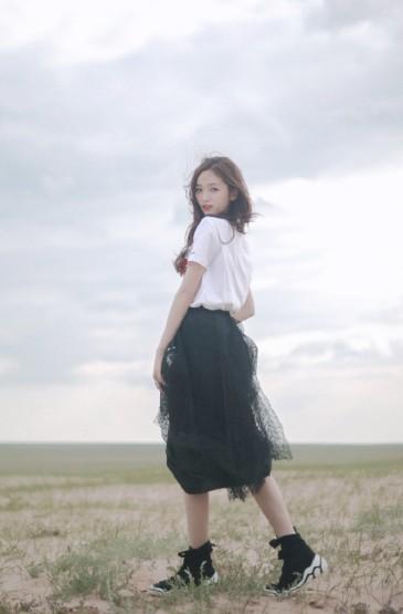 吴宣仪甜美小清新写真图