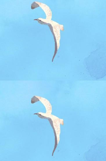 水彩风景创意手机壁纸图片