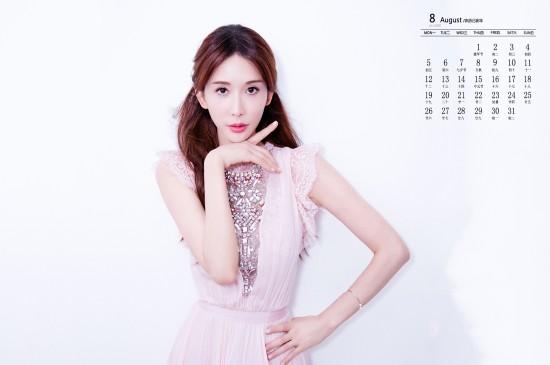 2019年8月林志玲性感仙