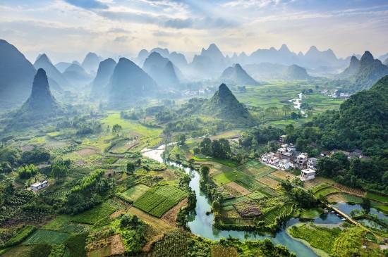 美丽的大自然风光美景图