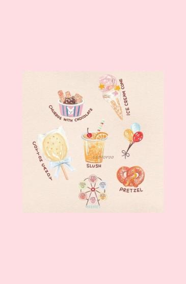 粉色萌物卡通手机壁纸