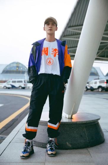 徐正溪国潮时尚机场写真图片