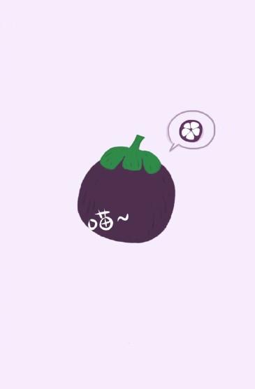 水果手绘创意手机壁纸