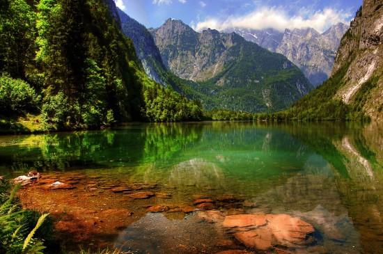 唯美的山川湖海风景桌面壁纸